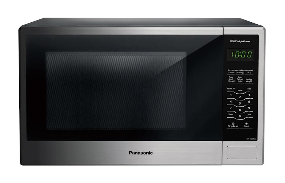 Panasonic 1.3 cu.ft. Countertop Microwave Oven - on sale at Walmart.
