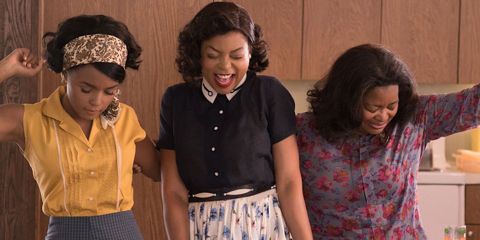 """<p>Based on true events, instant classic <em>Hidden Figures </em>tells the story of women who worked as """"computers"""" (extremely high-functioning human calculators) at NASA before machines took over. It's heart-warming, hilarious, and so inspiring that you'll want to stand up and cheer mid-movie.</p>"""