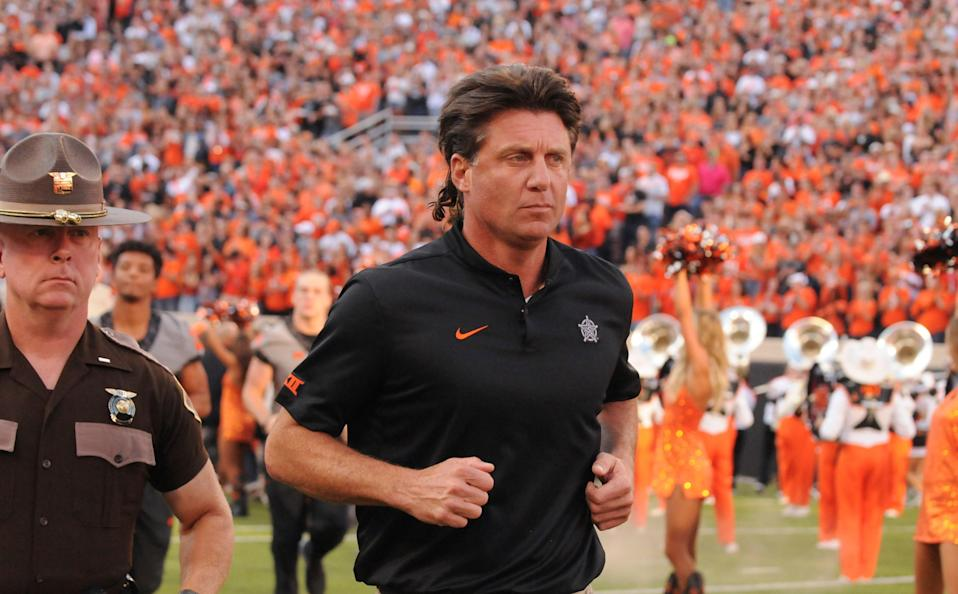 Did Mike Gundy really think this was going to work out? (AP Photo)