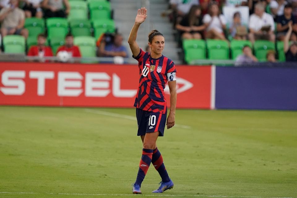 Carli Lloyd is a two-time Olympic and World Cup champion.
