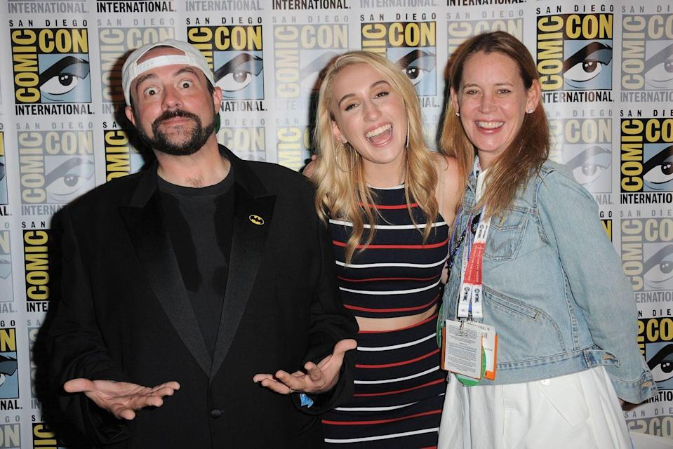 "<p><strong>Famous parent(s)</strong>: filmmaker Kevin Smith and actress/broadcaster Jennifer Schwalbach Smith<br><strong>What it was like</strong>: ""I'm constantly working hard and pushing myself out of my comfort zone to prove that I can and will work just as diligently as anyone else,"" she's <a href=""https://www.vanityfair.com/hollywood/2016/09/harley-quinn-smith-yoga-hosers"" rel=""nofollow noopener"" target=""_blank"" data-ylk=""slk:said"" class=""link rapid-noclick-resp"">said</a>. ""I grind twice as hard because my dad is a director and I need to show everybody that I can act and that even though I got here through him, I intend on staying put.""</p>"