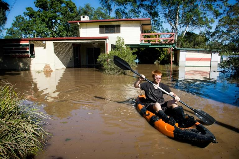 The cyclone dumped more than a metre of rain on parts of Queensland and the huge volume of water is still slowly spilling down river systems