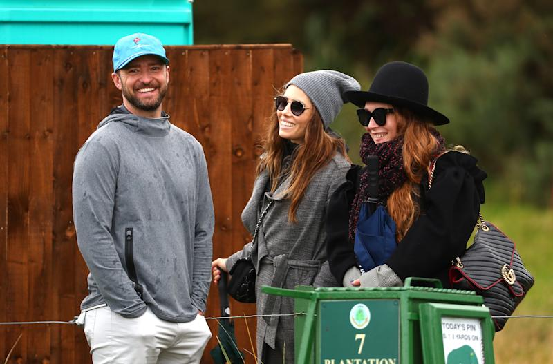 Justin Timberlake and Jessica Biel out and about