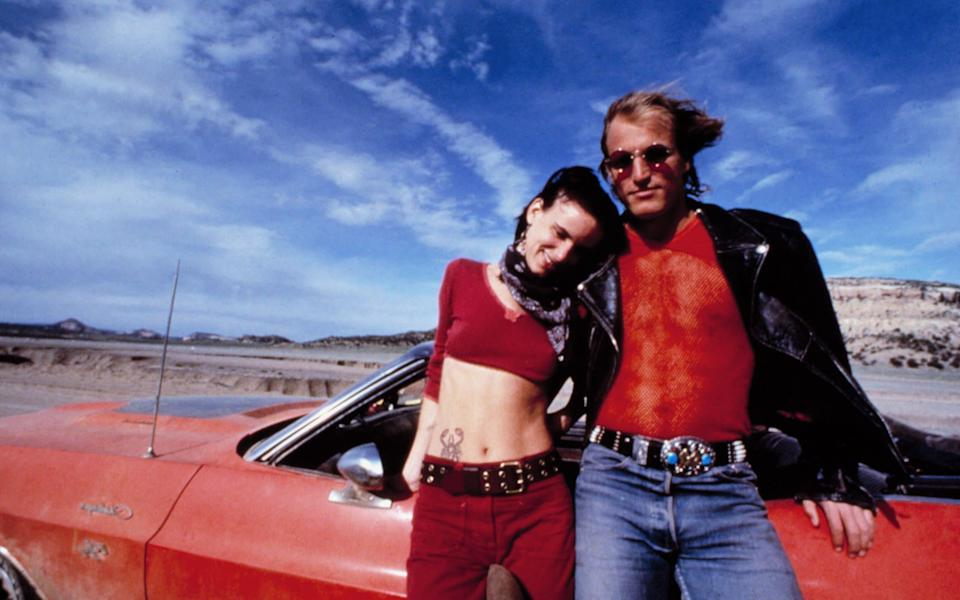 Juliette Lewis and Woody Harrelson in the 1994 film Natural Born Killers - Rex