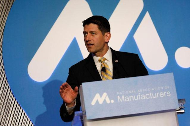 Speaker of the House Paul Ryan introduces his new tax policy Tuesday. (Photo: Aaron P. Bernstein/Reuters)