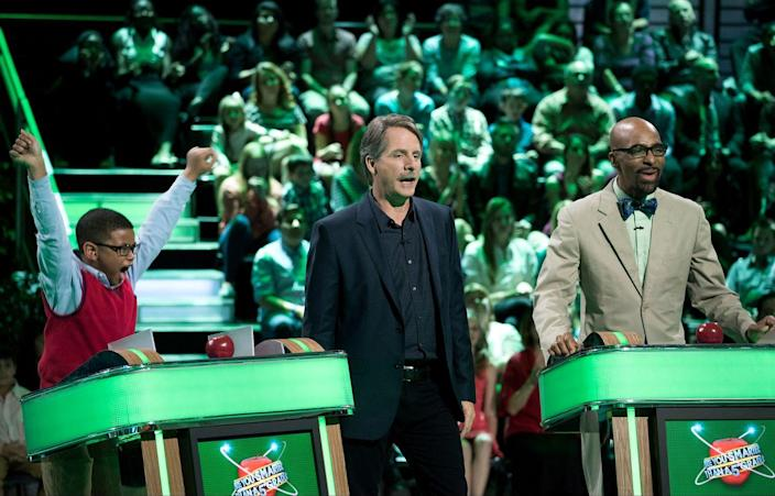 <p>Comedian Bill Engvall led this hilarious quiz game show where contestants would play with a group of students to try to win up to $1 million. The show, which debuted in 2007, was set up like a classroom with grade-specific questions. It became an instant hit, mostly due to Engvall's banter with contestants. The show was renewed in 2015 for an additional season on Fox.</p>