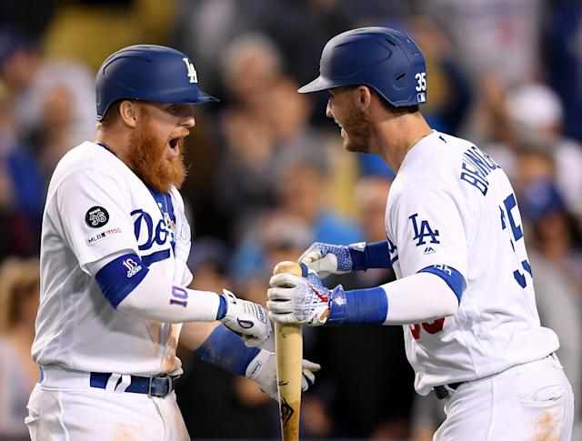 The Los Angeles Dodgers are still the team to beat in the NL West. (Photo by Harry How/Getty Images)