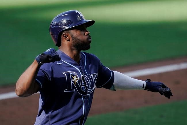 LEADING OFF: Rays, Braves try to clinch World Series trips