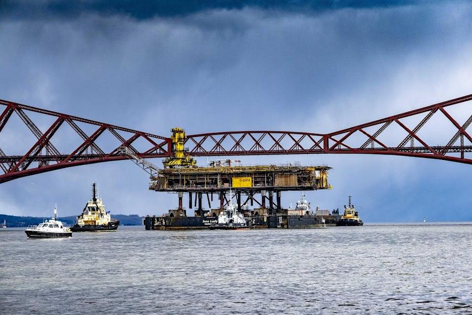 The North Sea produces enough oil and gas to supply much of the UK's needs (Peter Devlin/PA) (PA Media)