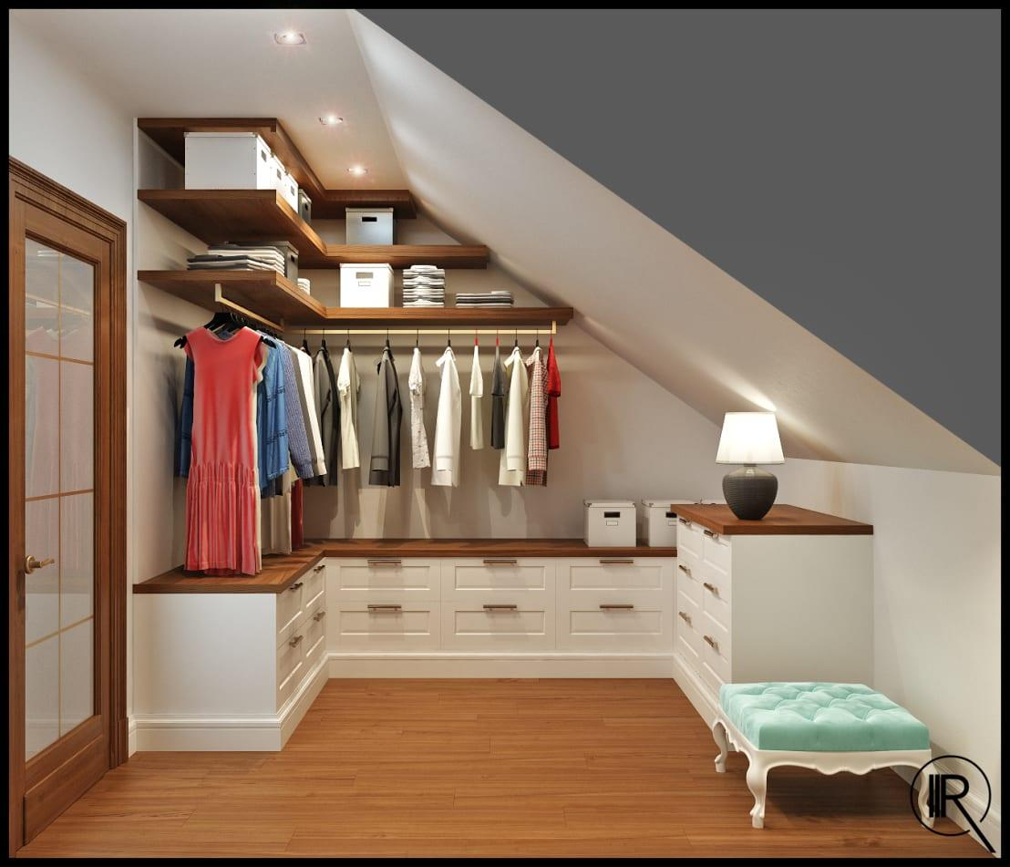 <p>This is such a good idea and will really ensure that you have accounted for everything in your wardrobe. Having different areas for long dresses, folded jumpers and accessories, for example, will really help you to never lose a treasured piece of clothing again and also minimise creasing! It just makes good sense.</p>  Credits: homify / Rash_studio