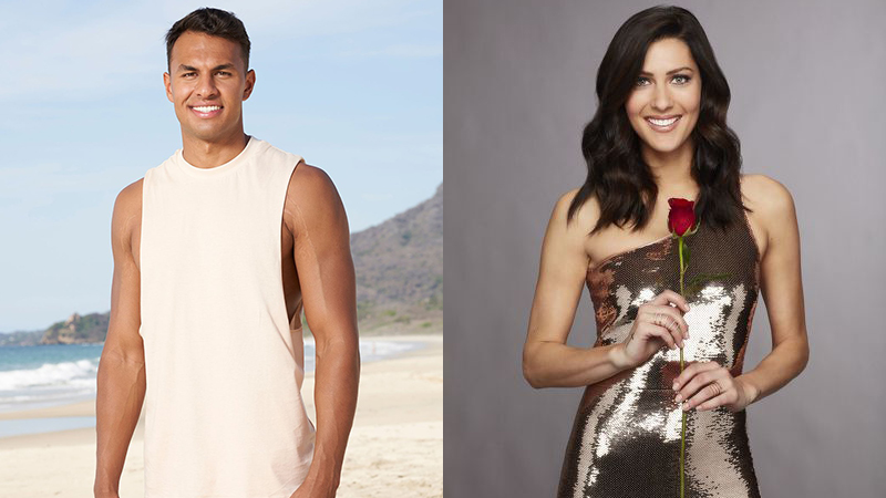 """Aaron, Becca, """"Bachelor in Paradise"""" 2021"""