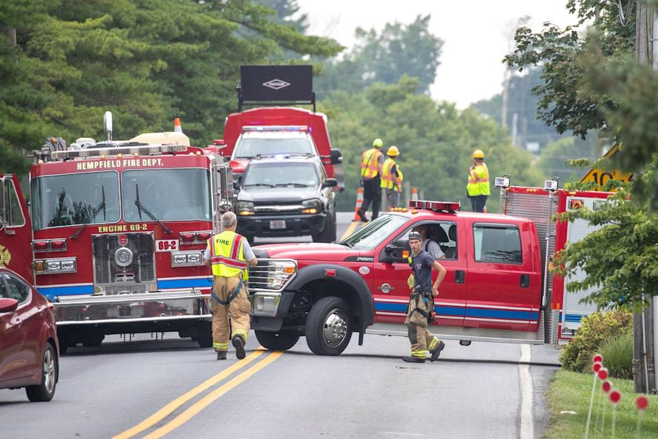 This was the scene of a police incident at the Spooky Nook Sports Complex on Spooky Nook Road, Sunday, Aug. 1, 2021, in East Hempfield Township, Lancaster Township.