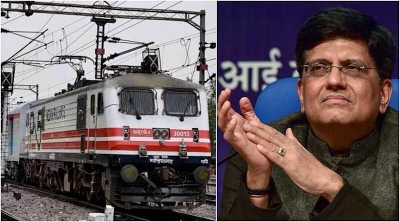 Indian Railways Will Move to 100% Electrification in Next 3.5 Years, Says Union Minister Piyush Goyal
