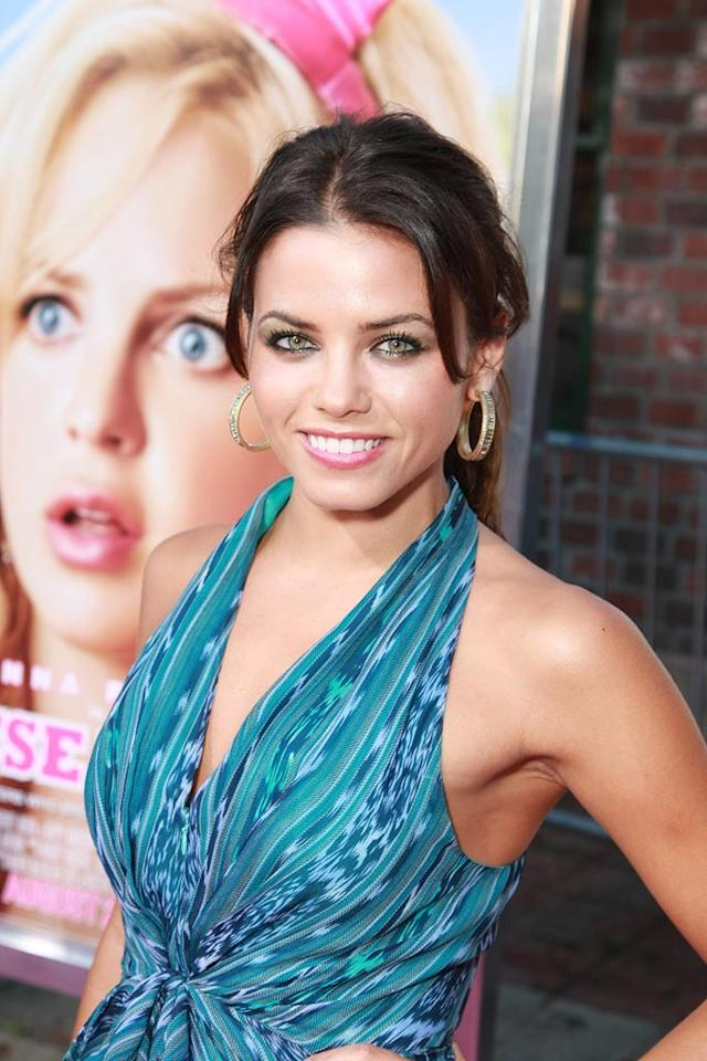 "<a href=""http://movies.yahoo.com/movie/contributor/1809103126"">Jenna Dewan</a> at the Los Angeles Premiere of <a href=""http://movies.yahoo.com/movie/1809921361/info"">The House Bunny</a> - 08/20/2008"