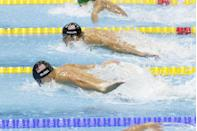 <p>Michael Phelps' Olympic performance at the 2012 Summer Games brought his medal count to a total of 22 – winning four gold medals and two silver. </p>