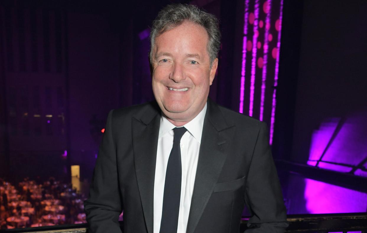 Piers Morgan at the GQ Men of the Year Award 2021. (Getty Images)