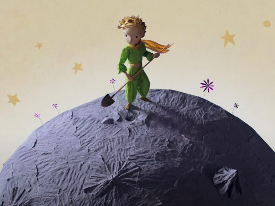 """The Little Prince"" tells the story of a young boy living on an asteroid."
