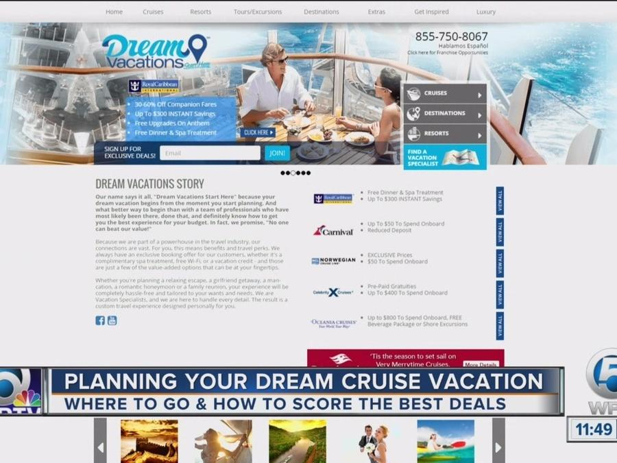Drew Daley, general manager of Dream Vacations, offers some travel tips for your next cruise.