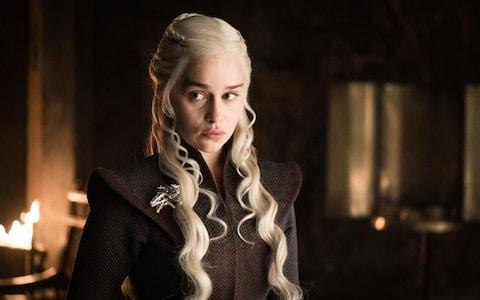 Emilia Clarke said that she was paid the same as her male co-stars for her role as the mother of dragons - Credit: HELEN SLOAN / HBO