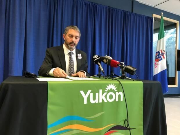 Yukon Premier Sandy Silver is going to provide an update on the COVID-19 situation at 10:30 a.m. on Friday morning. (Wayne Vallevand/CBC - image credit)