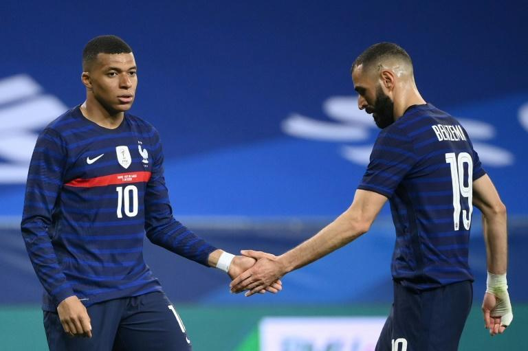 Kylian Mbappe and Karim Benzema - World Cup holders France play Switzerland in the last 16