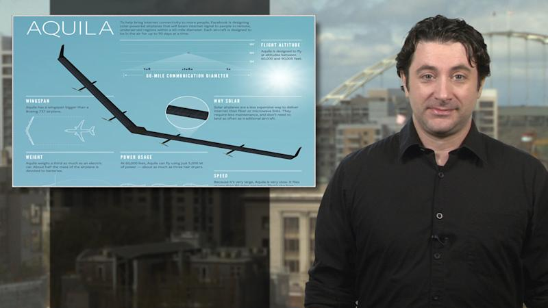 NTSB looking into crash of Facebook's huge Aquila drone