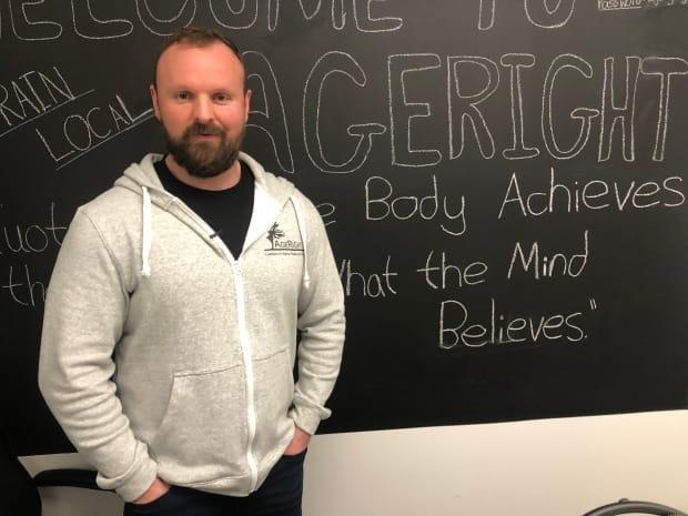 Shane Monahan opened AgeRight Fitness in January 2020, and is excited to get back to work after multiple lockdowns impacted his business.