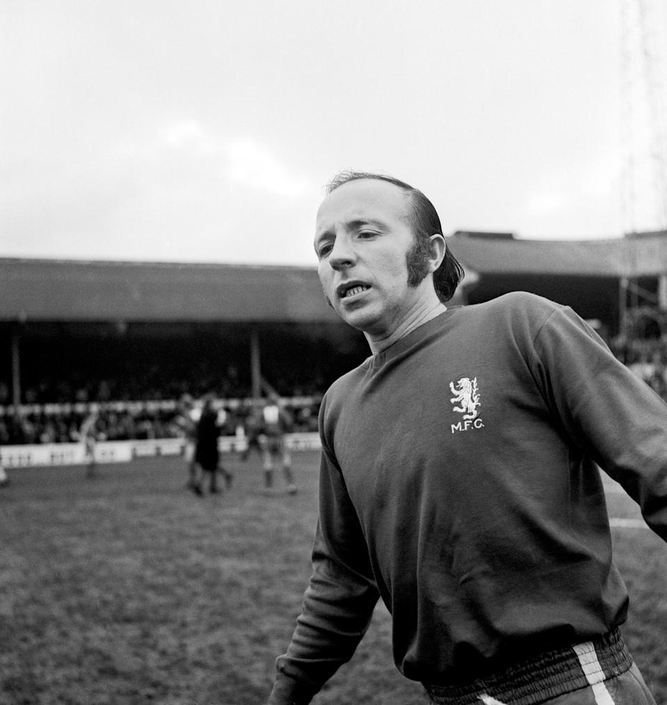 Nobby Stiles, Middlesbrough (Photo by S&G/PA Images via Getty Images)
