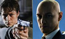 <p>James McAvoy has appeared as the young Professor X in the most recent <em>X-Men</em> movies but his first comic book movie experience was as Wesley Gibson in <em>Wanted</em>. </p>