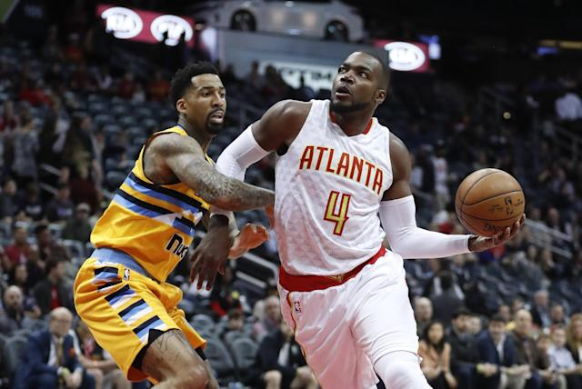 "A former second-round pick out of Louisiana Tech, <a class=""link rapid-noclick-resp"" href=""/nba/players/4175/"" data-ylk=""slk:Paul Millsap"">Paul Millsap</a> has become one of the NBA's best two-way forwards. (AP)"