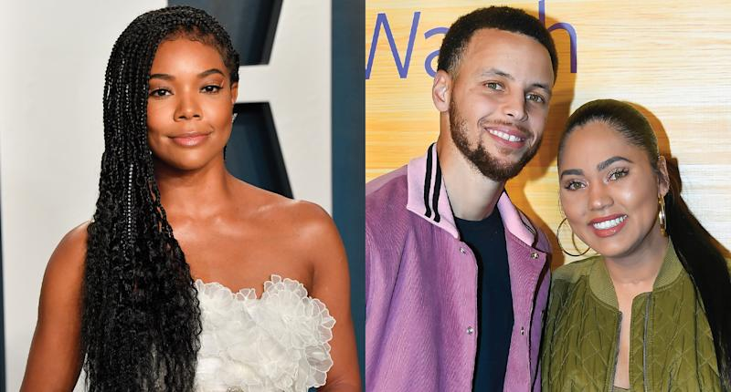 Gabrielle Union once advised her friends Steph and Ayesha Curry to break up. (Photo: Getty Images)