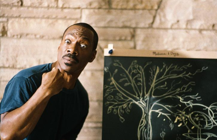 """In this film image released by Paramount Pictures, Eddie Murphy is shown in a scene from """"A Thousand Words."""" (AP Photo/Paramount - DreamWorks Pictures, Bruce McBroom)"""