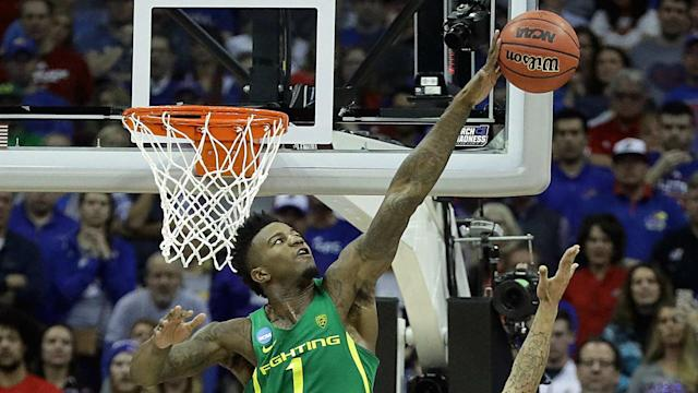 Oregon is going to the Final Four for just the second time in school history and first time since 1939 thanks to Jordan Bell's block party.