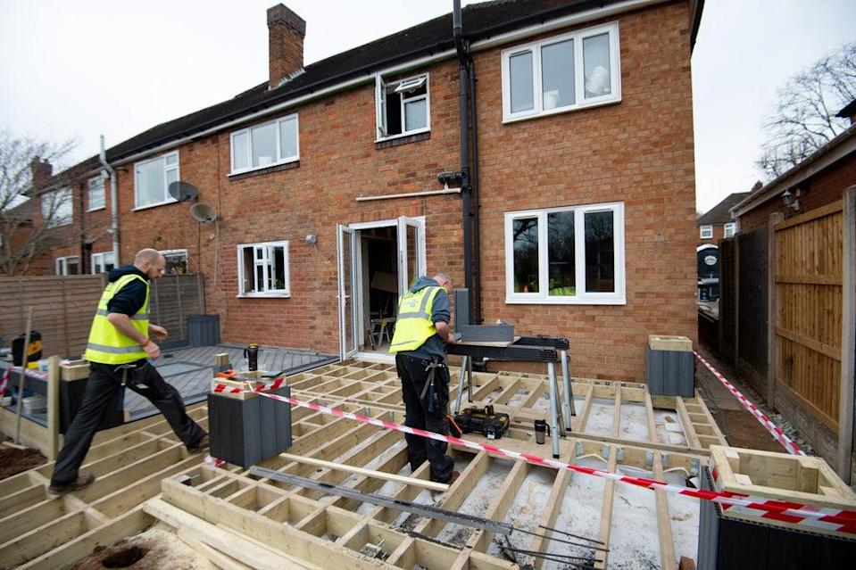 Concerns over the end of the stamp duty holiday pushed down housebuilders on Thursday (Jacob King/PA) (PA Wire)