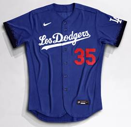 The Los Angeles Dodgers unveiled their City Connect Jerseys to be worn this weekend.