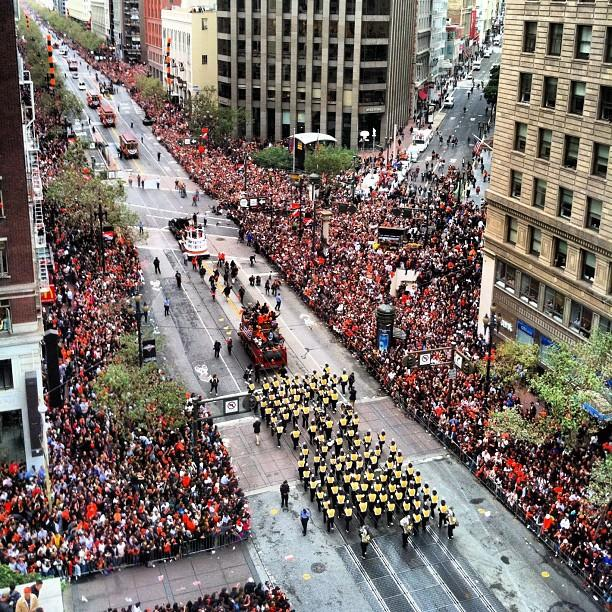 21 Winning Instagrams from the S.F. Giants' World Series Parade [PICS]