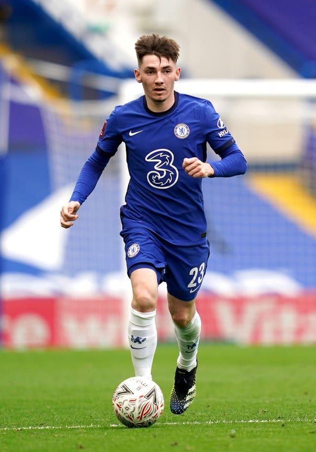 Chelsea's Billy Gilmour is in the Scotland squad