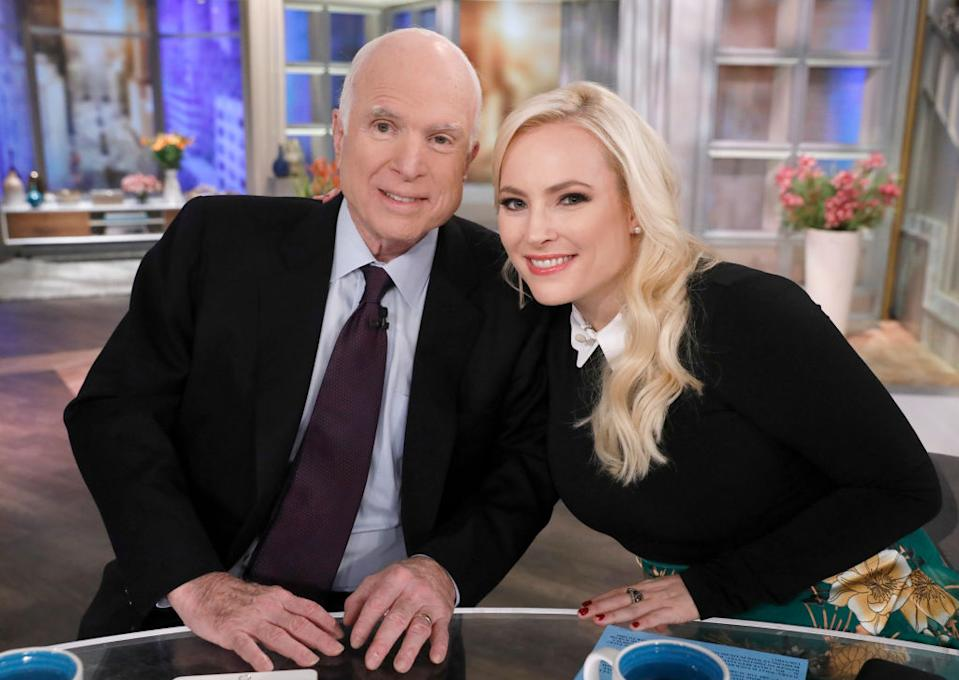 The late Sen. John McCain's daughter, Meghan, remembered him on Election Day. (Photo: Heidi Gutman/Walt Disney Television via Getty Images)