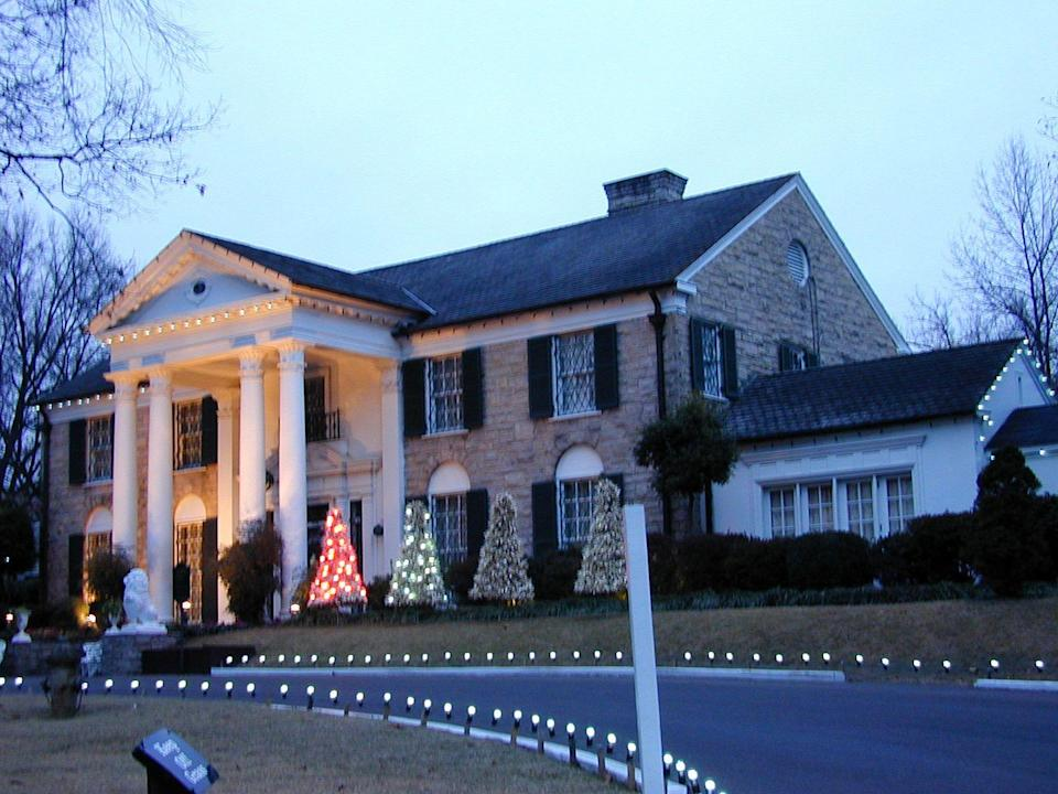 <p>It would be a blue Christmas without any decorations at Graceland. The home is still decorated every year for the holiday season. </p>