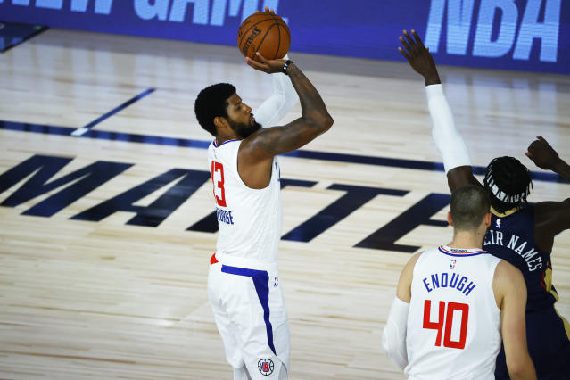 The Pelicans had no answer for the Clippers' shooting. (Photo by Kevin C. Cox/Getty Images)