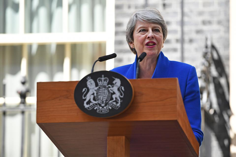 """After failing to get her Brexit deal through Parliament, and amid constant sniping at her from within her own party, Theresa May fell on her sword and resigned as prime minister, saying her decision was in """"the best interests of the country"""" (Picture: PA)"""