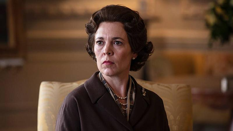 Olivia Coleman plays as Queen Elizabeth II in The Crown season three