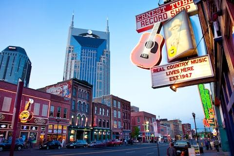 Direct flights to Nashville start in May - Credit: GETTY