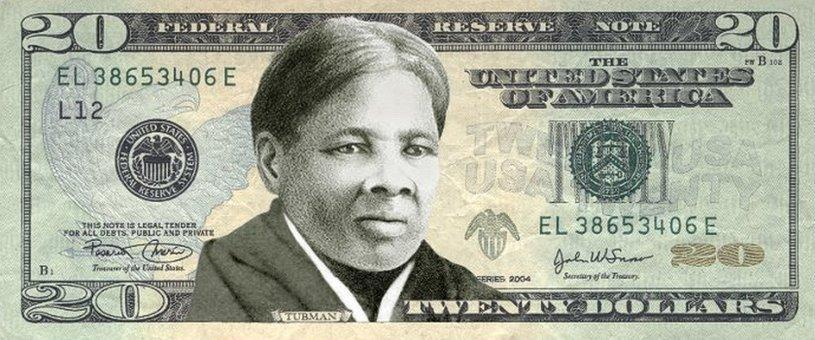 Harriet Tubman on the $20
