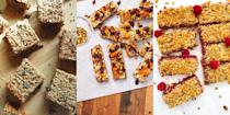 """<p>Real talk: flapjacks are underrated. And that's the truth. They're often forgotten about when it comes to thinking of new and tasty <a href=""""https://www.delish.com/uk/cooking/recipes/g29893176/healthy-snack-recipes/"""" rel=""""nofollow noopener"""" target=""""_blank"""" data-ylk=""""slk:snacks"""" class=""""link rapid-noclick-resp"""">snacks</a>. So, with that in mind, here's some of our favourite flapjack recipes that are indeed delicious, soft and (believe it or not) healthy.</p>"""