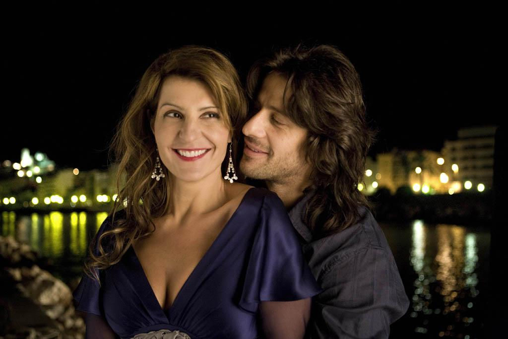 "<a href=""http://movies.yahoo.com/movie/contributor/1804536542"">Nia Vardalos</a> and <a href=""http://movies.yahoo.com/movie/contributor/1808756111"">Alexis Georgoulis</a> in Fox Searchlight's <a href=""http://movies.yahoo.com/movie/1809945090/info"">My Life in Ruins</a> - 2009"