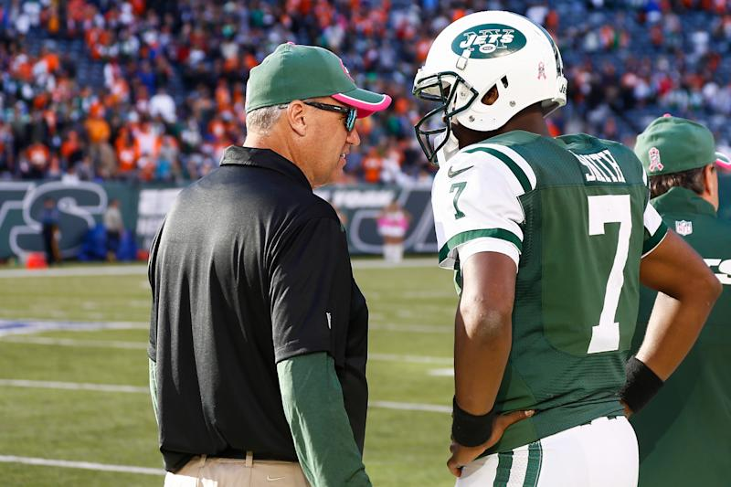 Geno Smith Blasts Rex Ryan, Calls Him 'A Coward'