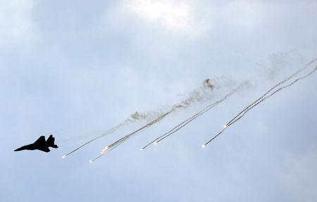 Hamas fires at Israeli fighter jets making retaliatory strike