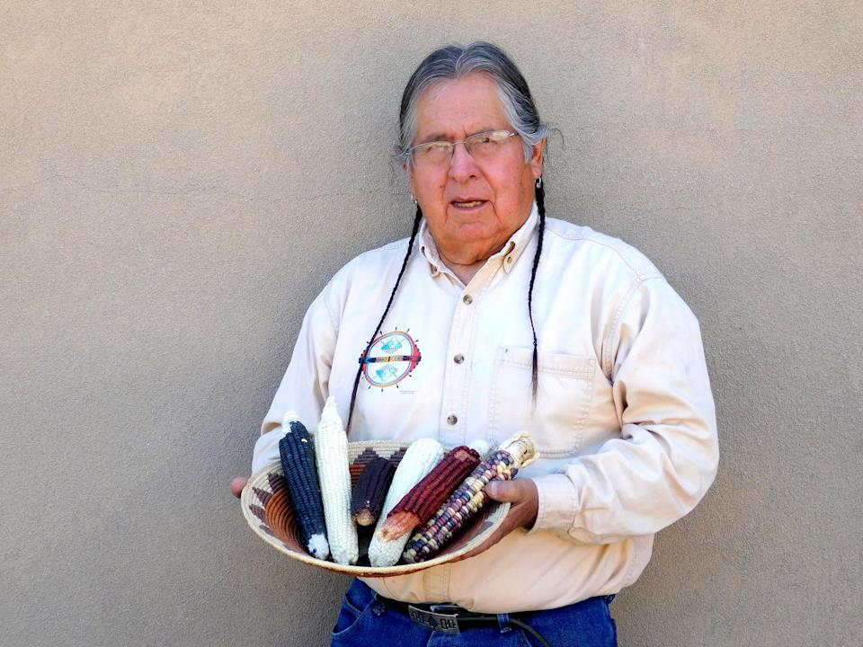 Clayton Brascoupe is a co-founder of the Traditional Native American Farmers Association, which donates seeds to home farmers. (Courtesy Clayton Brascoupe)
