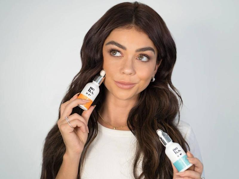 Sarah Hyland lands No B.S. Skin Care campaign